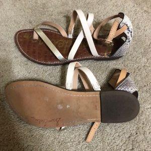 Gently worn Sam Edelman strappy sandals